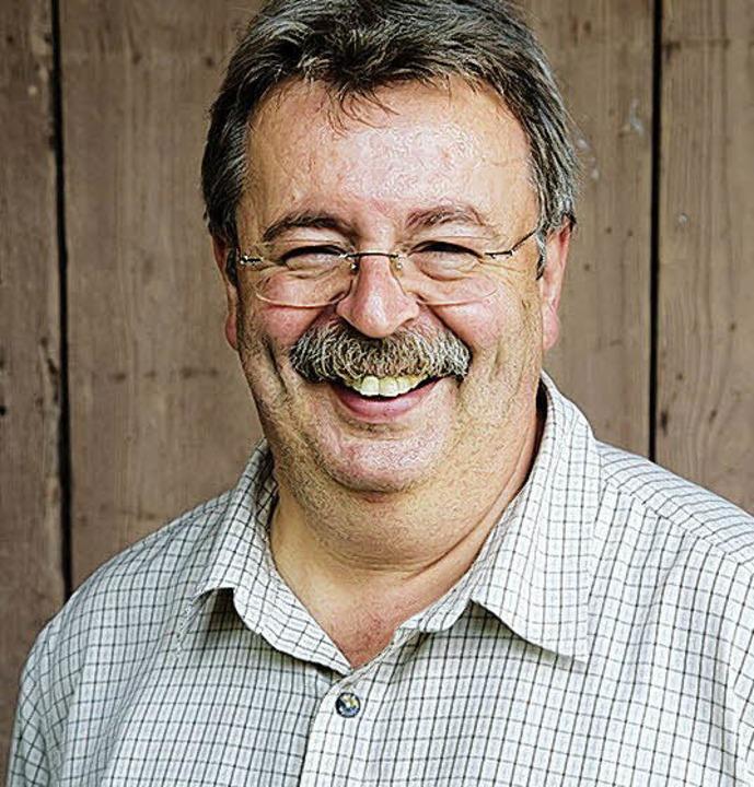 Meister des badischen Kartoffelsalats: Manfred Limberger    Foto: Michael Wissing