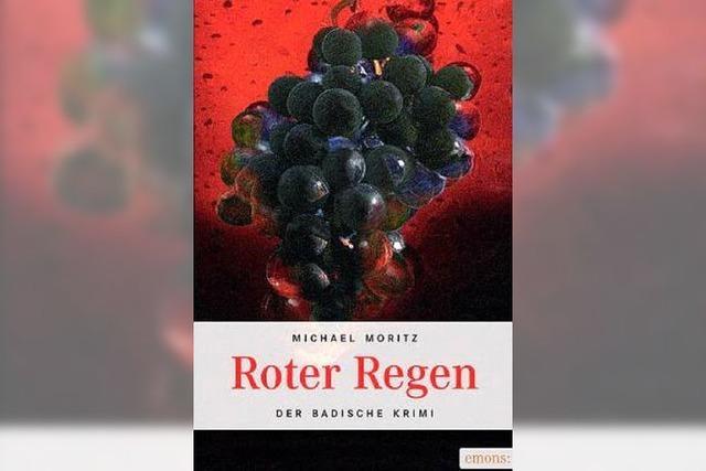 REGIOKRIMI II: Dauerregen in den Reben