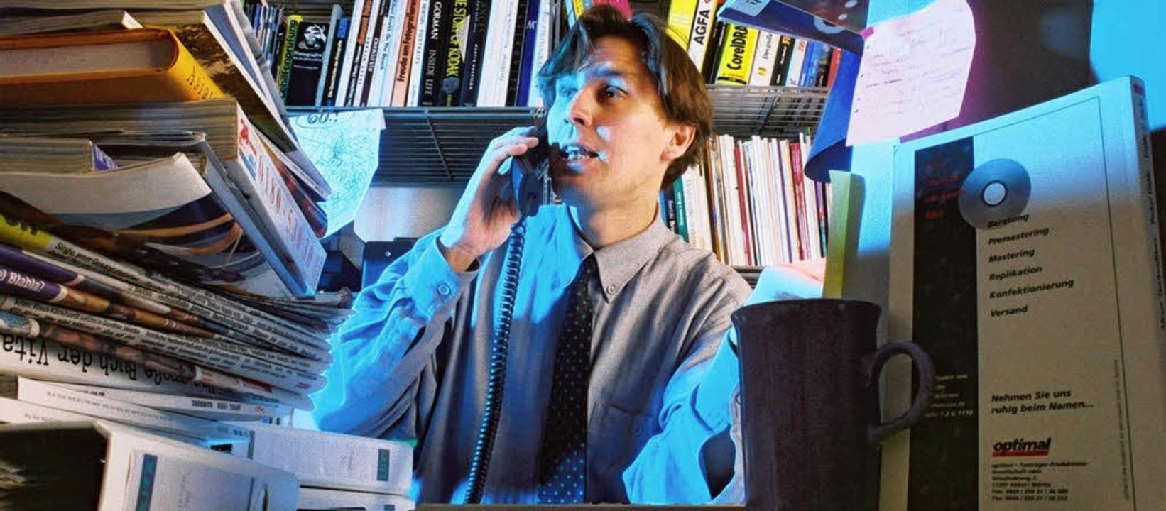 In einer immer schnelleren Arbeitswelt...rderungen immer häufiger überfordert.   | Foto: ddp