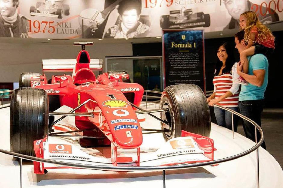 Der Ferrari F1-2000 (Foto: dpa)