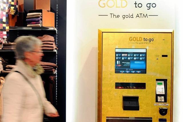 Gold wie Zigaretten am Automaten kaufen
