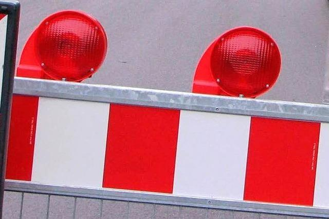 Gasleitung beschädigt – L 108 bei Hornberg gesperrt