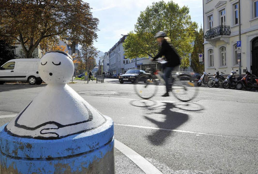 Die Kreuzung der Wilhelmstraße mit der...aut und fußgängerfreundlicher werden.   | Foto: Michael Bamberger