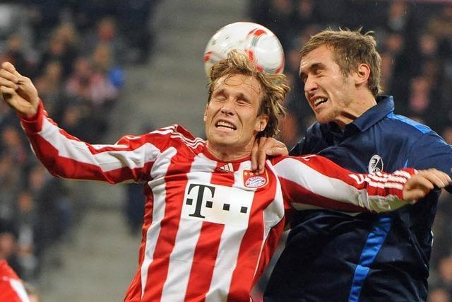 Der SC Freiburg unterliegt dem FC Bayern deutlich