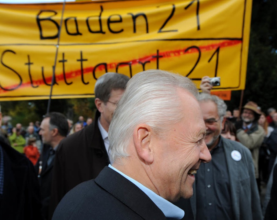 Baden 21: Rüdiger Grube in Weil am Rhein.  | Foto: dpa