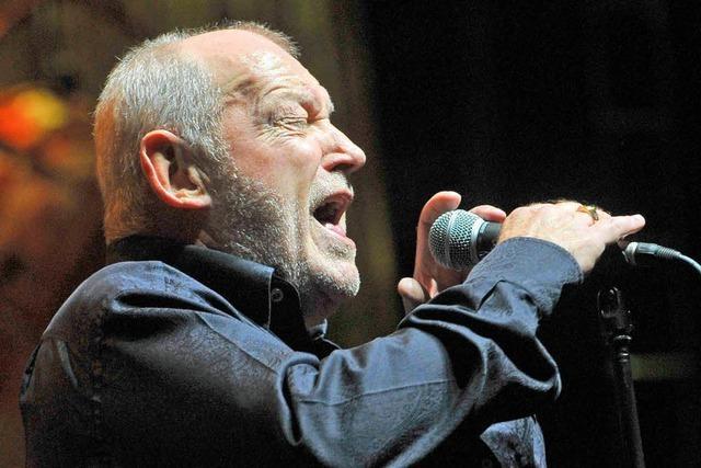 Joe Cocker begeistert 3500 Musikfans in Freiburg