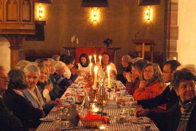 Zu Tisch bei Martin Luther und Katharina von Bora