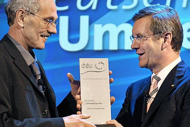 Umweltpreis für Chef des Öko-Instituts Freiburg