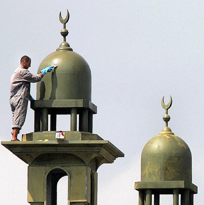 Für die CSU ein Schreckensbild:  Minarette  | Foto: dpa