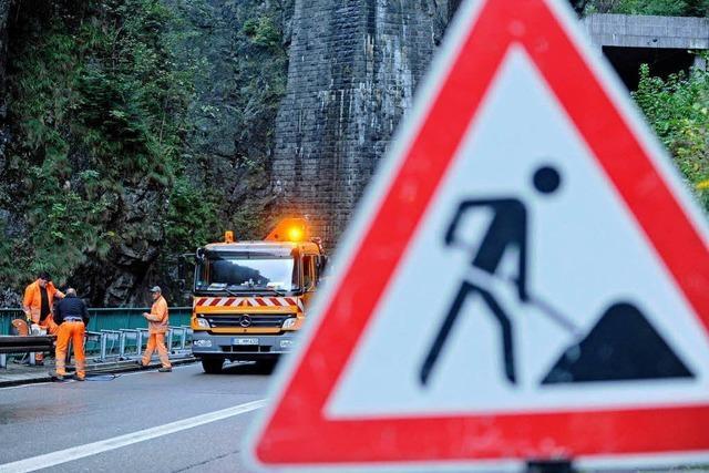 Höllental: Arbeitsunfall – B31 stundenlang gesperrt
