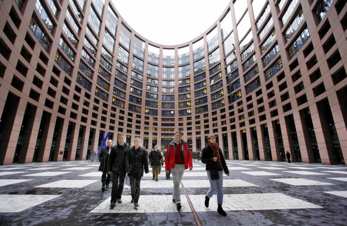 Der FDP Stadtverband Bad Krozingen zu ...opaparlament in Strassburg, Frankreich  | Foto: Tarek Mostafa