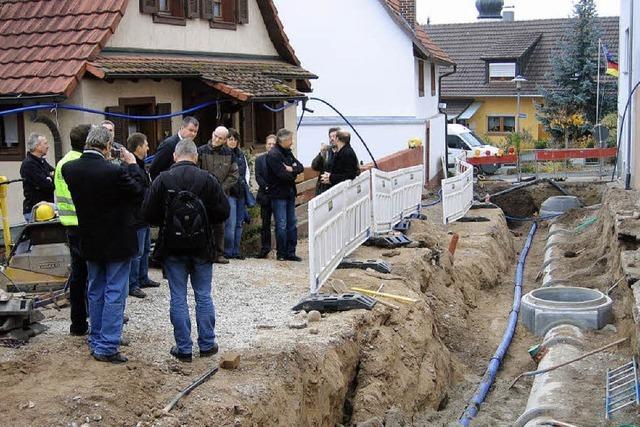 Dorfsanierung vor dem Abschluss