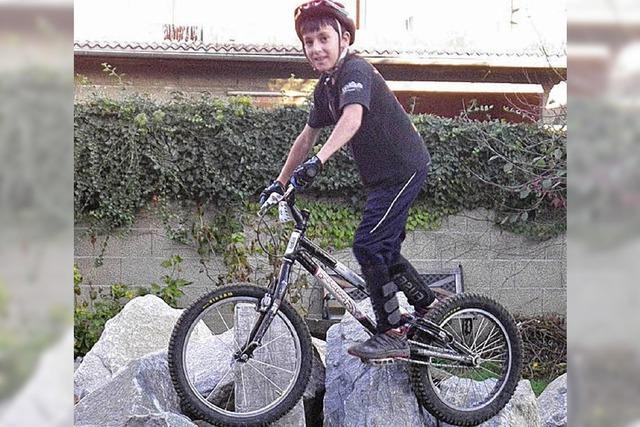Mein Hobby: Fahrrad-Trial
