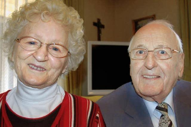 Seit 65 Jahren verheiratet