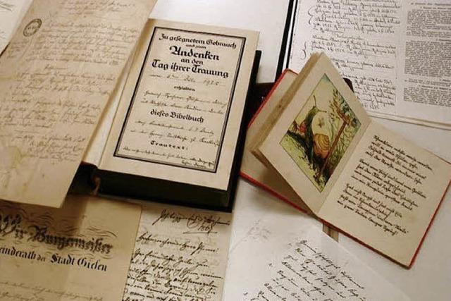 Omas Kochbuch und Opas alte Briefe