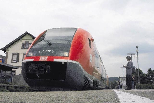 Bahn bietet mehr Platz an