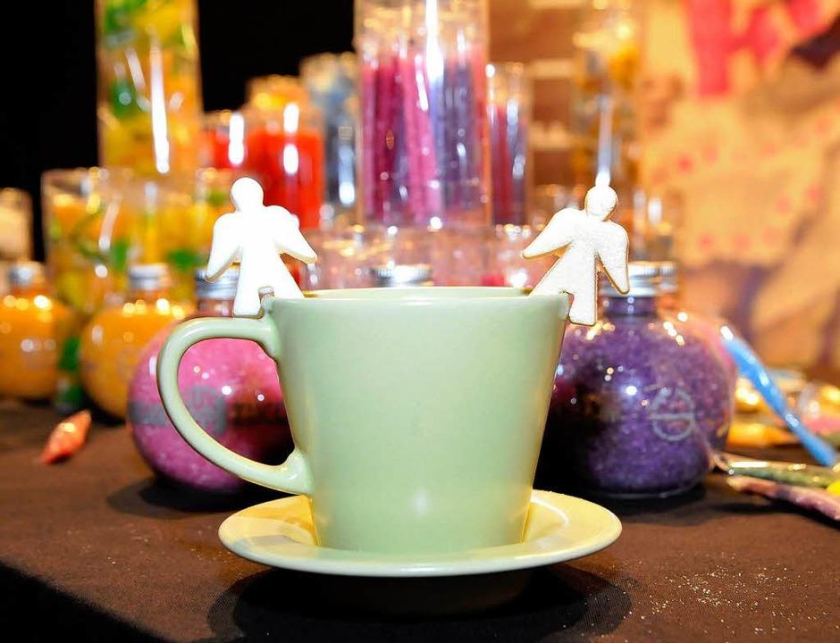 Schönes aus Zucker – auch das gehört zum Angebot der Plaza Culinaria.    Foto: Michael Bamberger