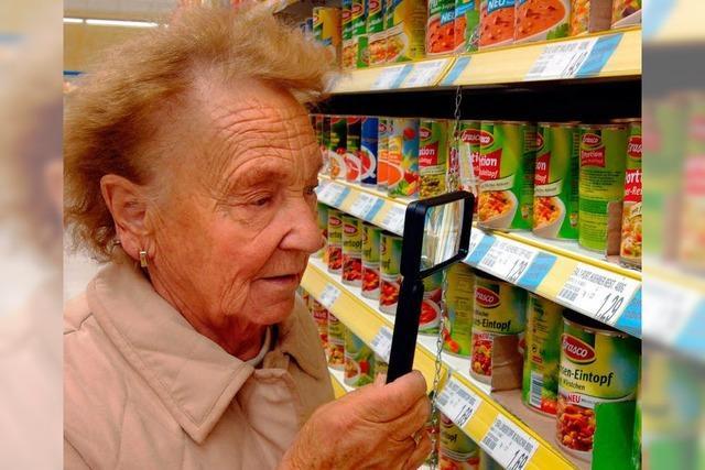 Mogelei im Supermarkt