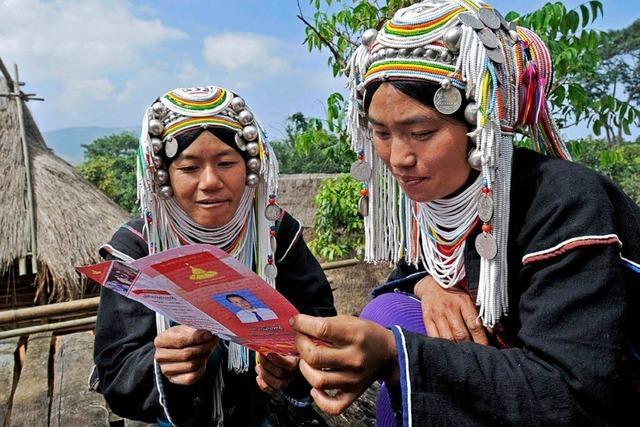 Birma: Eine Diktatur lässt wählen