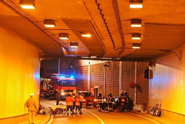 B-31-Tunnel: Notfallplan zu 99,99 Prozent perfekt