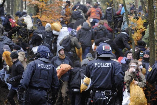 Ärger in Straßburg, Stopp in Kehl, Gewalt in Dannenberg