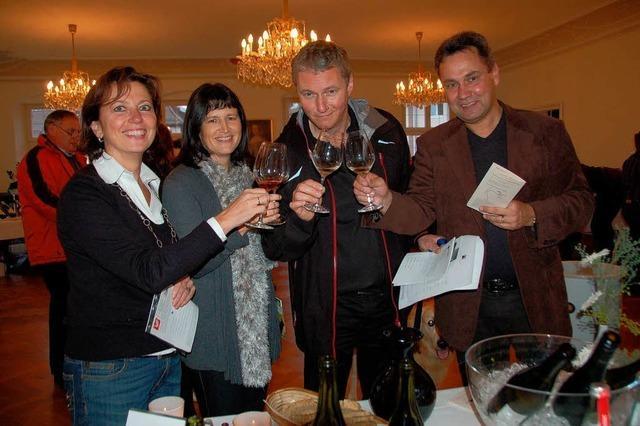 Eine kleine Weinmesse des Breisgaus