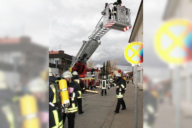 Die Feuerwehr hat den Dreh raus
