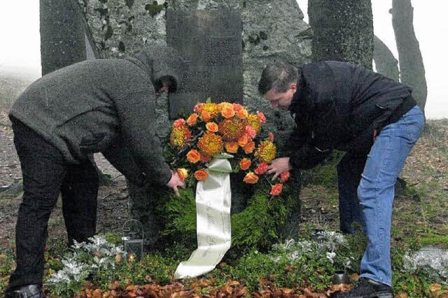 Zum Gedenken an die ermordeten Polen