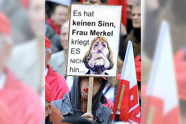 Verdi fordert das Recht auf politischen Generalstreik