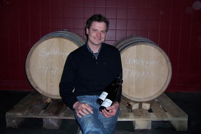 Am Ziel: Auch der jüngste Laible hat jetzt ein Weingut