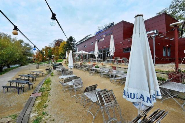 Café-Extrablatt-Filiale im Dreisamufer-Café