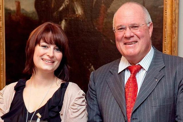 Medien-Förderpreis von Wolfgang Poppen geht an eine Lahrerin