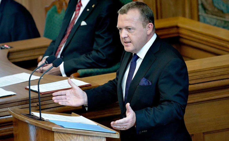 "Dänemarks Ministerpräsident Lars Løkke... Alters, sondern der  Vernunft.""  | Foto: dpa"