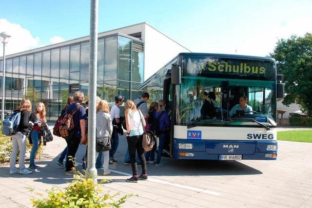 Mehr Busfahrten, kürzere Heimwege