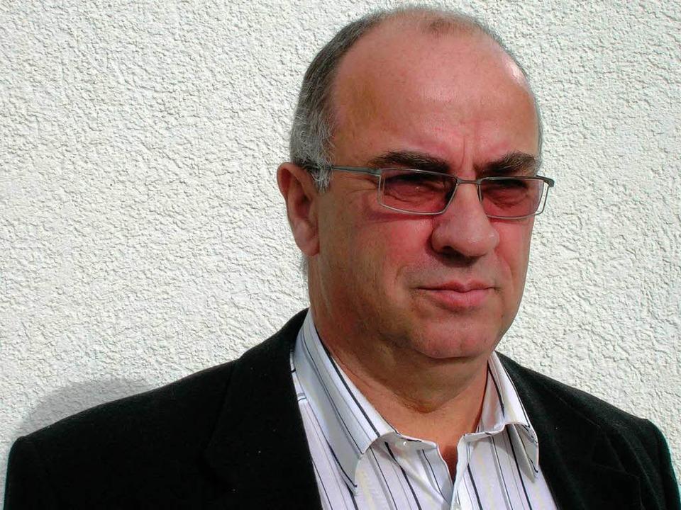 Wolfgang Kunkler, bis zum Sommer 2011 Vorsitzender des EHC Freiburg.  | Foto: Karl Heidegger