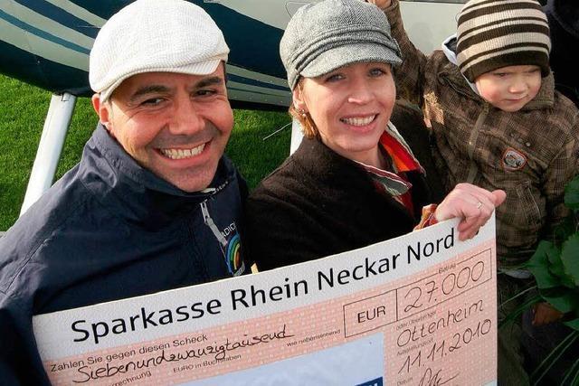 Sylvia Saiger aus Ottenheim gewinnt 27000 Euro