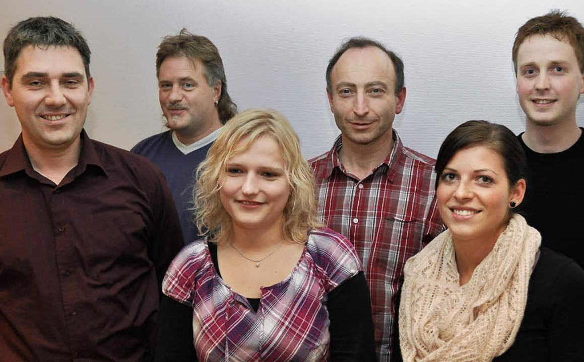 Das Organisationsteam der Ausbildungsg...gner, Carina Matt und Stefan Schäuble.  | Foto: Kirsten lux