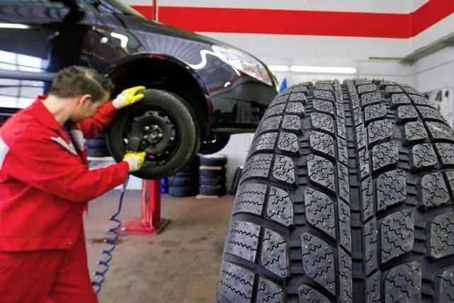 Reifen müssen Profil zeigen