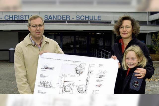 Verein gestaltet Schulhof