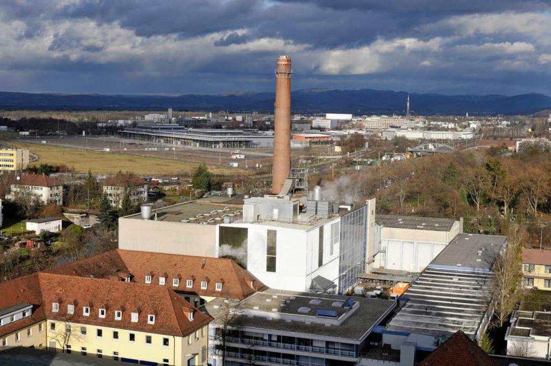 Könnte bald ein Öko-Vorzeigemodell werden: das Heizkraftwerk der Uniklinik.    Foto: Ingo Schneider