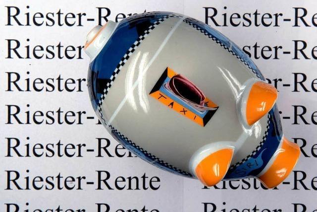 BZ-Telefonaktion: Fragen und Antworten zur Riester-Rente