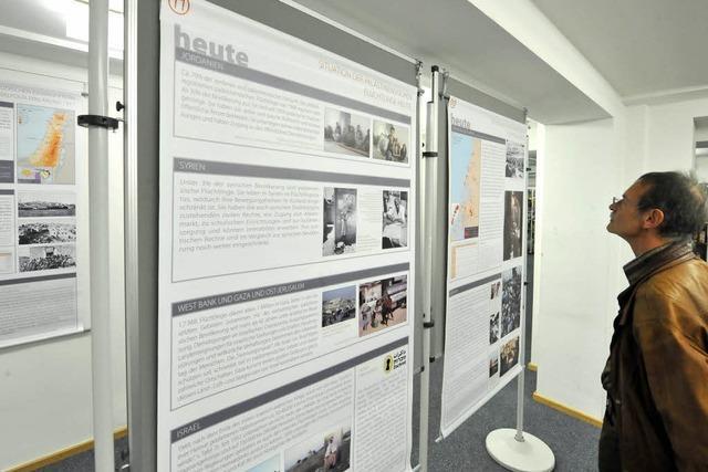 Freiburger Palästina-Ausstellung eröffnet
