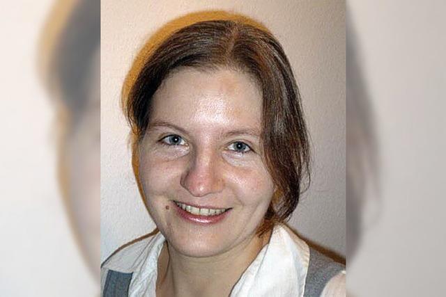 Bettina Koch ÖDP-Kandidatin