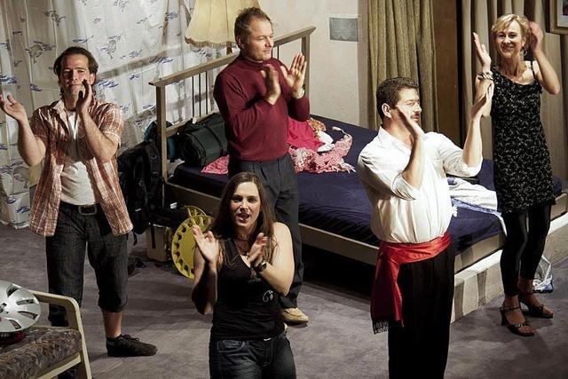 Gelungene Premiere im Haus des Gastes