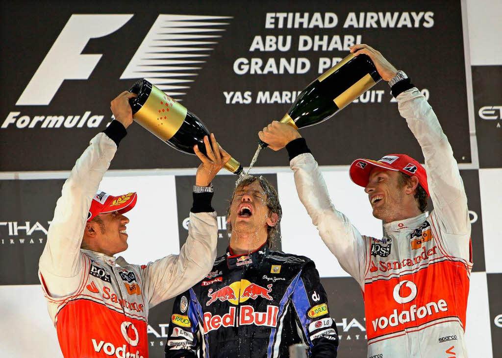 Siegerehrung Formel 1
