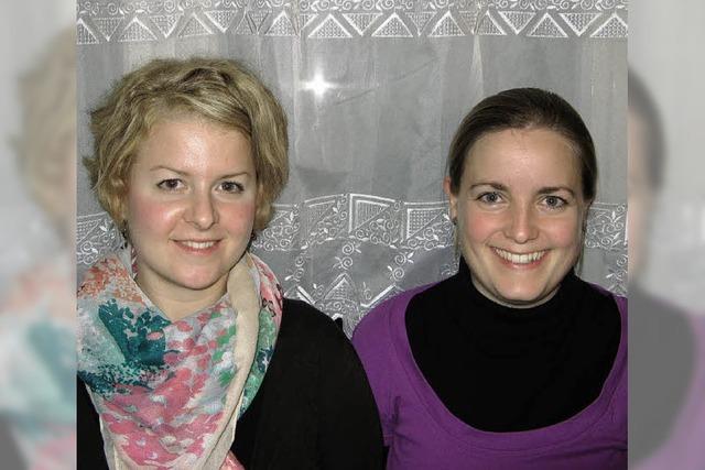 Damen-Duo spricht für die Vereine