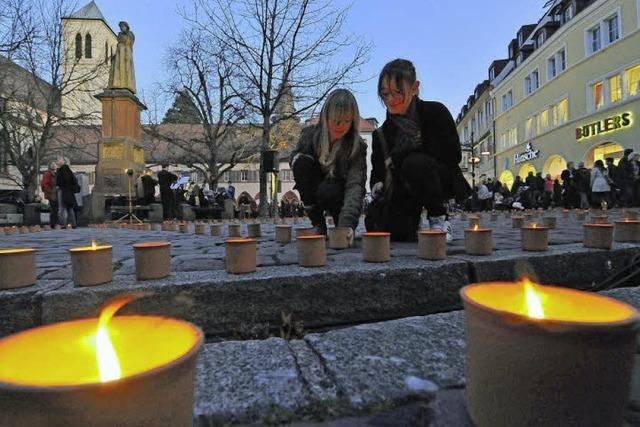 Caritas-Aktion: Jede Kerze ein Licht der Hoffnung