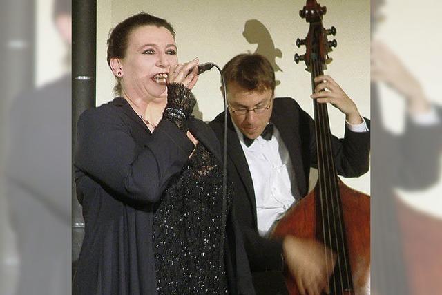 Musikalischer Hildegard-Knef-Abend im Museumskeller