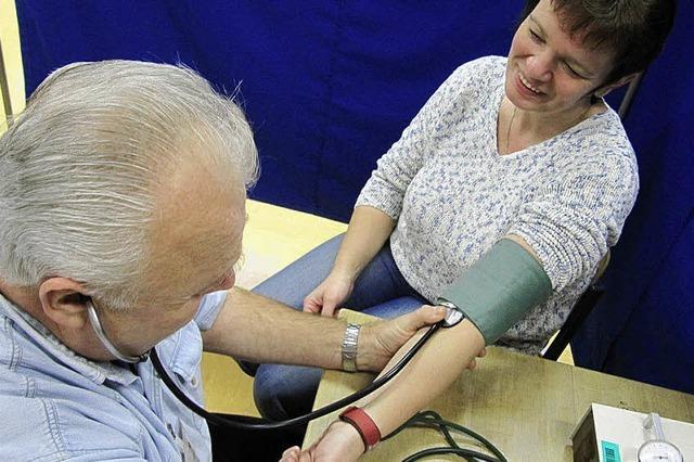 Für 13 Blutspender war es das erste Mal