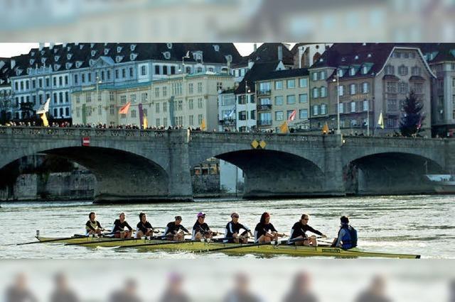 Rhein verbindet die Region